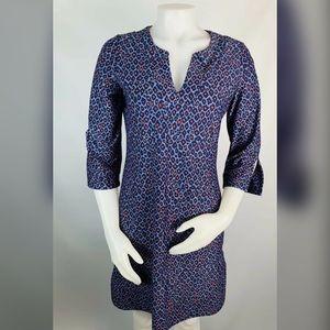 Jude Connally Leopard Shift Tunic Dress